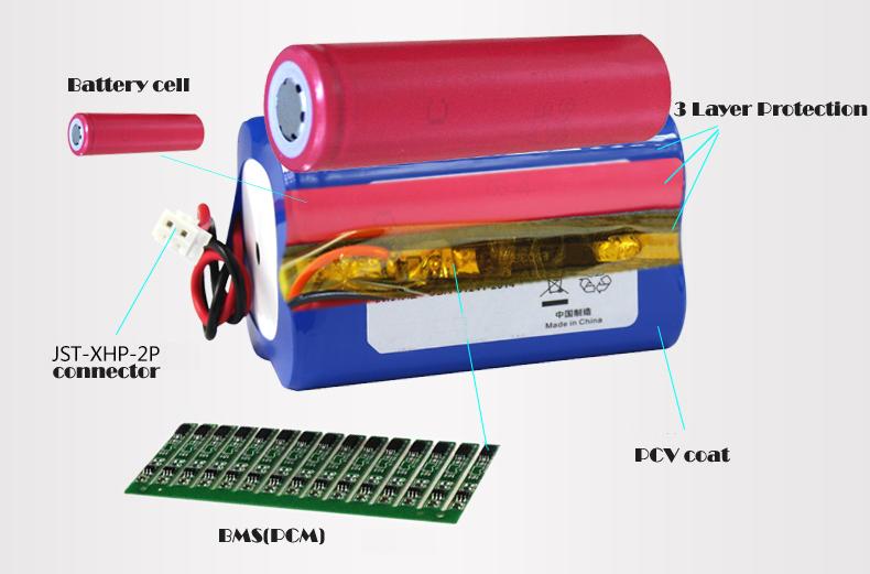 BMS battery pack