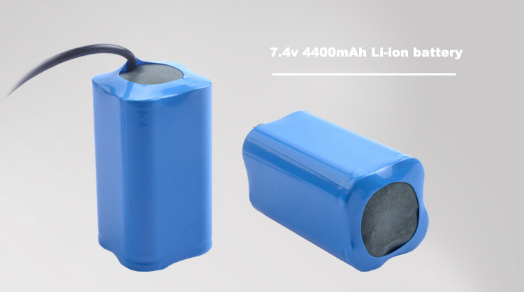 li-ion battery pack 7.4 v 4400mah