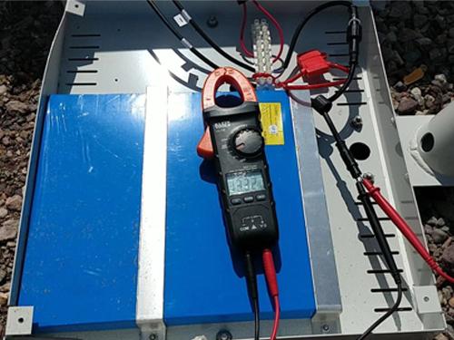12v solar battery testing
