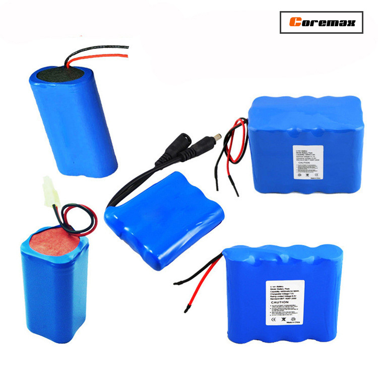lithium ion battery pack 4800mah