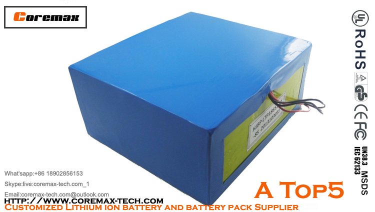 4S4P 14.8V 14Ah lithium ion battery pack