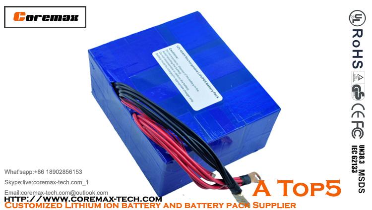 12V 40Ah Solar Power storage LiFePo4 battery