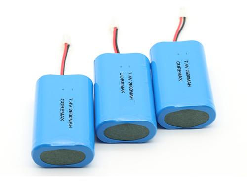 7.4 volt battery pack