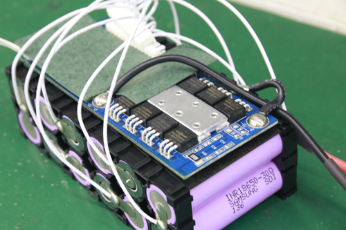 battery pack with BMS