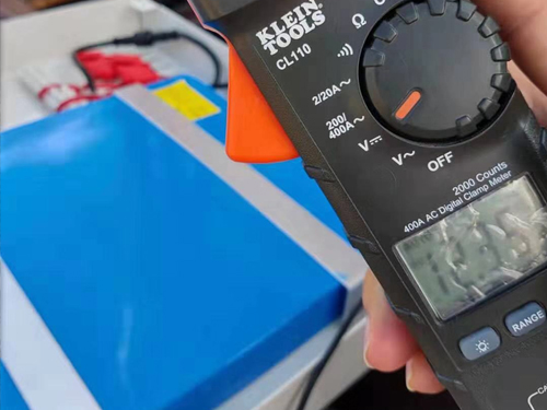 lithium iron phosphate battery solar volt test