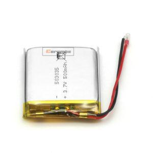 lithium polymer battery 500mah 503035