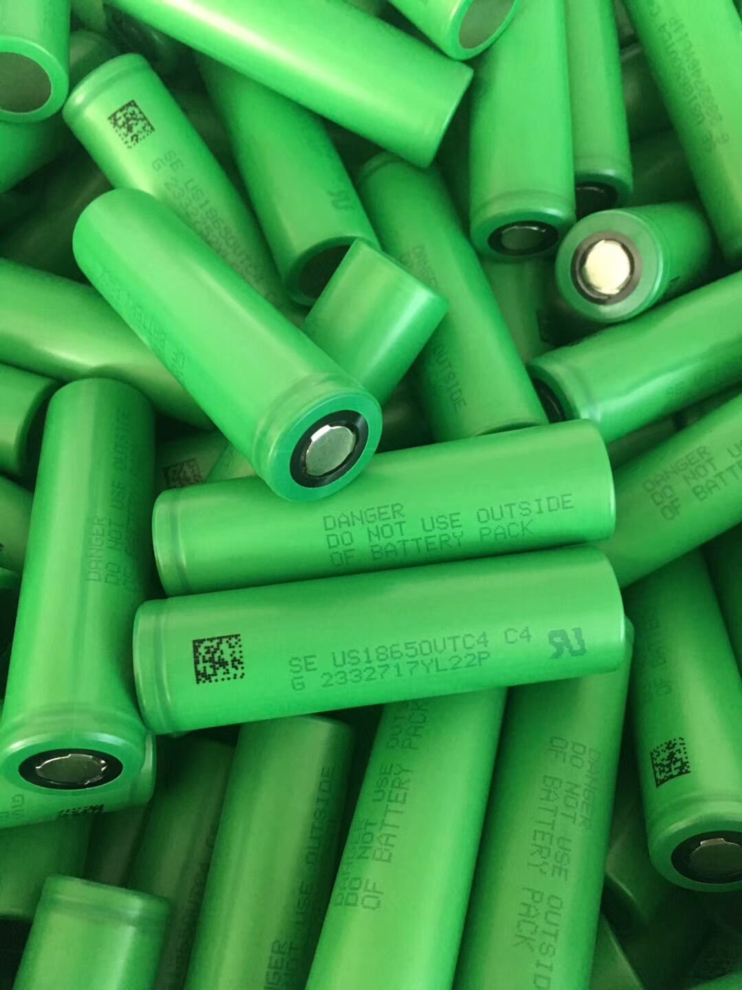 High quality 18650 battery cells
